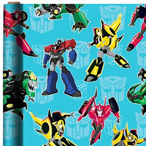 Transformers Gift Wrap
