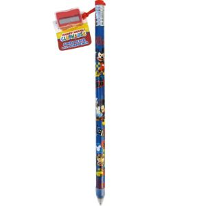 Mickey Mouse Giant Pencil with Sharpener