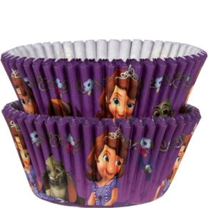 Sofia the First Baking Cups 50ct
