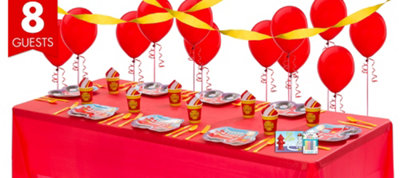 Firefighter 1st Birthday Party Supplies Basic Party Kit