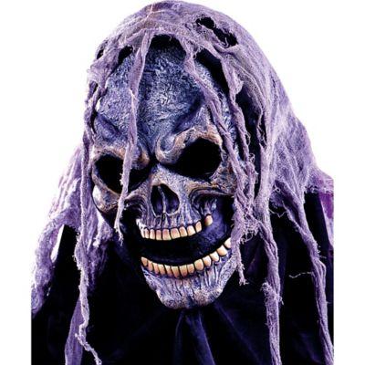 Open Mouth Hooded Skull Mask