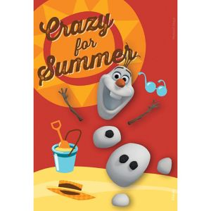 Crazy for Summer Olaf Magnet - Frozen