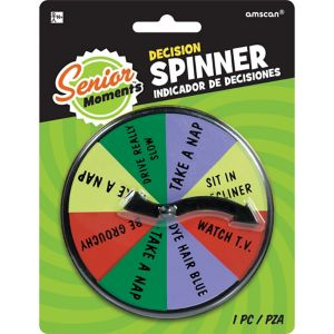 Over the Hill Decision Spinner