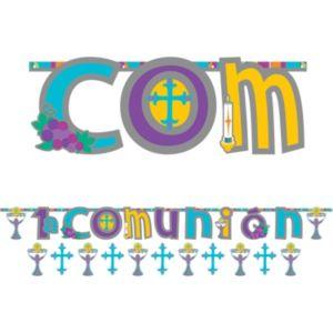 Mi Primera Comunion Banners 2ct