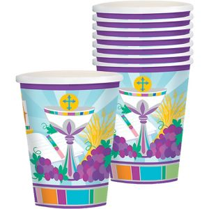 Mi Primera Comunion Cups 8ct