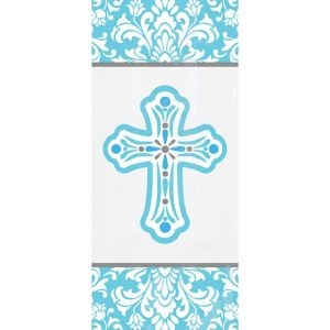 Blue Communion Treat Bags 20ct