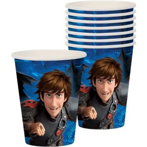 How to Train Your Dragon Cups 8ct
