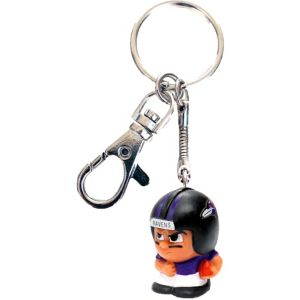 TeenyMates Clip-On Baltimore Ravens Keychain