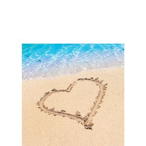 Beach Love Beverage Napkins 16ct