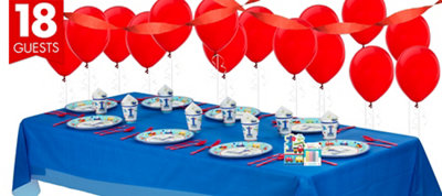 All Aboard First Birthday Party Supplies Basic Party Kit