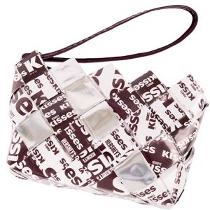 Hershey's Kisses Candy Wrapper Wristlet