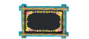 Tiki Chalkboard Sign