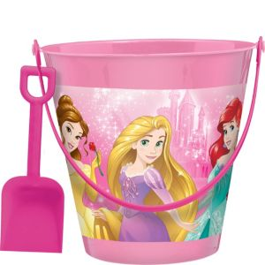 Pink Disney Princess Pail with Shovel