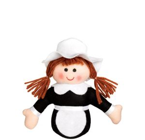 Pilgrim Girl Plush