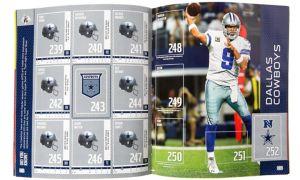 NFL Sticker Album Set