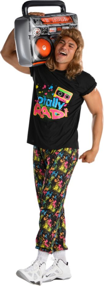 Adult Totally Rad 80s Costume