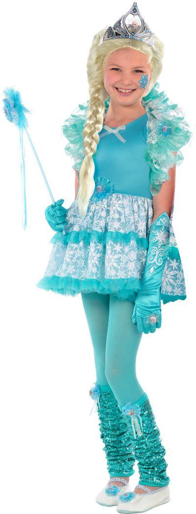 Girls Tutu Elsa Costume - Frozen