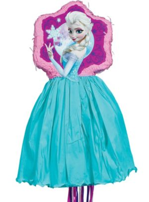 Pull String Elsa Pinata Deluxe