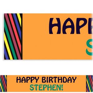 Custom Party Hardy Surprise Banner 6ft