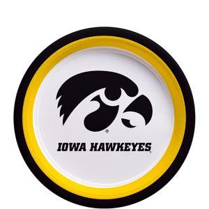 Iowa Hawkeyes Dessert Plates 12ct