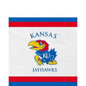Kansas Jayhawks Lunch Napkins 20ct