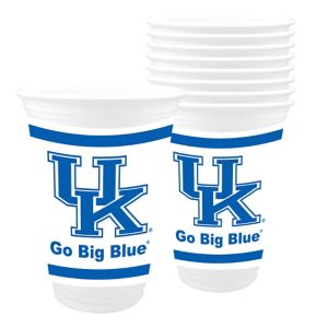 Kentucky Wildcats Plastic Cups 8ct