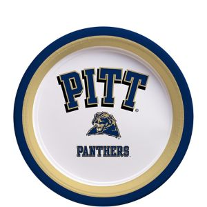 Pittsburgh Panthers Dessert Plates 12ct