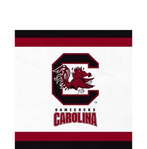 South Carolina Gamecocks Lunch Napkins 20ct