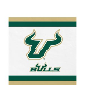South Florida Bulls Lunch Napkins 20ct