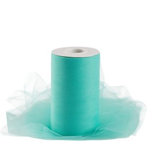 Robin's Egg Blue Tulle Spool