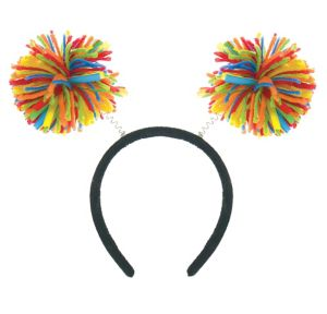 Rainbow Pom-Pom Head Bopper