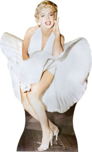 Life Sized Marilyn Monroe Cutout