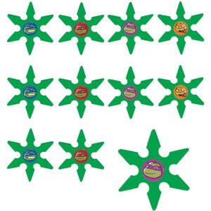 Teenage Mutant Ninja Turtles Ninja Stars 48ct