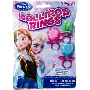 Frozen Candy Rings 3pc