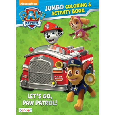 Paw Patrol Coloring Activity Book