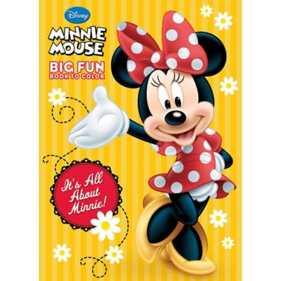 Minnie Mouse Coloring Amp Activity Book Party City