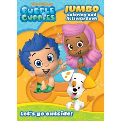 Bubble Guppies Coloring & Activity Book | Party City