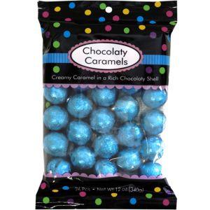 Caribbean Blue Chocolate Caramels 26pc