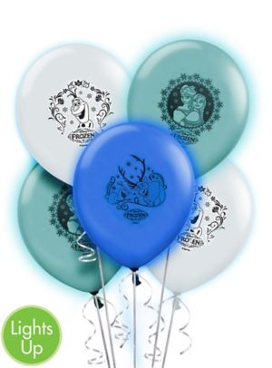 Light-Up Frozen Balloons 5ct