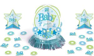 Welcome Baby Boy Baby Shower Table Decorating Kit 23pc