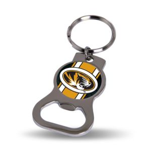 Missouri Tigers Bottle Opener Keychain