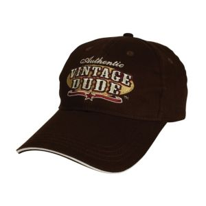 Vintage Dude Rodeo Baseball Hat