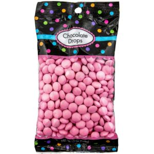 Pink Chocolate Drops 350pc