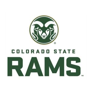 Colorado State Rams #1 Fan Decal