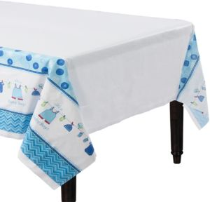 It's a Boy Baby Shower Table Cover