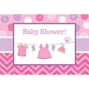 It's a Girl Baby Shower Invitations 8ct