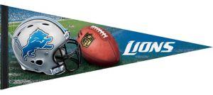 Premium Detroit Lions Pennant Flag