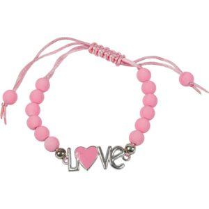 Pink Sliding Knot Love Bracelet