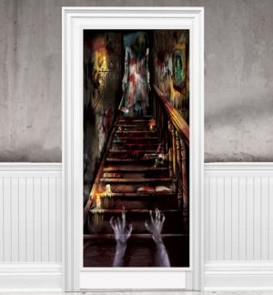 Haunted Mansion Door Cover
