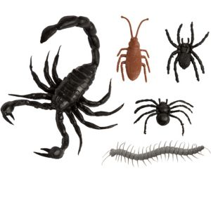 Brown, Gray & Black Bugs 28ct